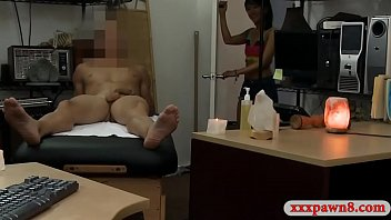 Asian babe gets banged by nasty pawn man