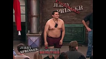 What is the name of the blonde? Jerry springer