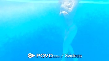 Povd Outdoor Poolside Tight Pussy Pounding