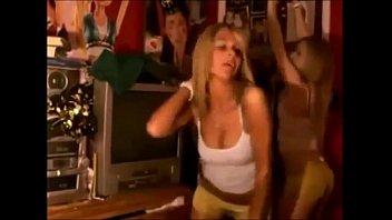 Blonde Teens Dancing