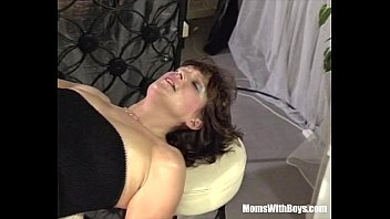 Mature hot fucked - Brunette mature bartender anal fucked by customer