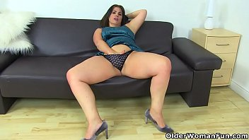 Free sexy older women thumbs - Curvy milf montse swinger fucks her pussy with a dildo