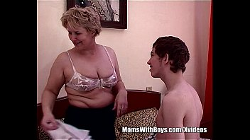 Teen Boy Fucks Bestfriend's Hot Blonde Mom