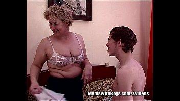Chubby old mom - Teen boy fucks bestfriends hot blonde mom