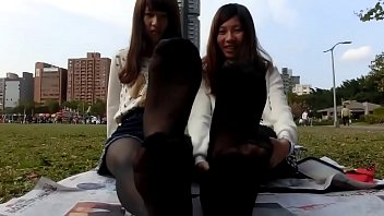 台灣學生黑絲足底