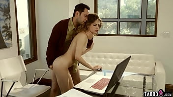 Before she went to college Kristen Scott wanted to fuck her daddy