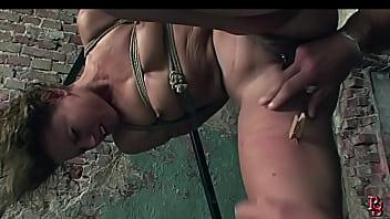 Pretty sex bomb has her cruel training.BDSM bondage sex movie.
