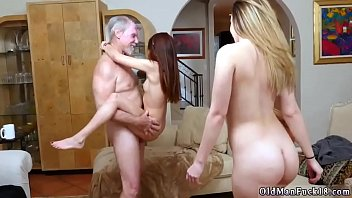 German old milf young girl and daddy spanks fucks playfellow's