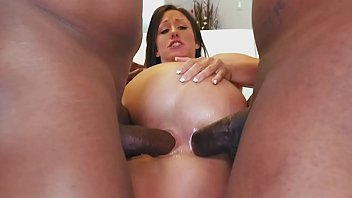 Jennifer White's Big Black Cock DP Featuring Prince Yahshua & Rico Strong