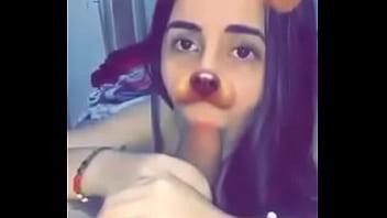 mi novia colombiana me la mama con filtro de snap chat