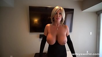 6734 Her Tits Bounce and She Swallows Every Drop preview