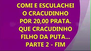 PUTOZORJ - COME E ESCULACHA O CRACUDINHO, DEPOIS DE UM SERVIÇO DE OBRA... PART - 2