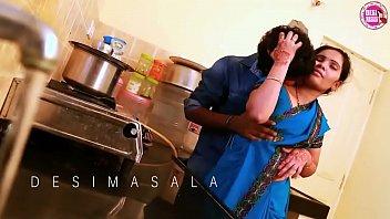 ANJALI (Telugu) as House Wife, Husband - Lovely Romance in KITCHEN