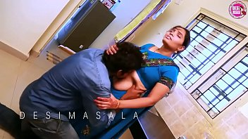 ANJALI (Telugu) as House Wife, Husband - Lovely Romance in KITCHEN