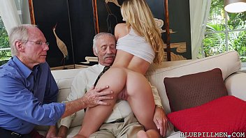 Old vs young lesbian galleries Young molly earns her keep by fucking old guys on blue pill men bpm15327