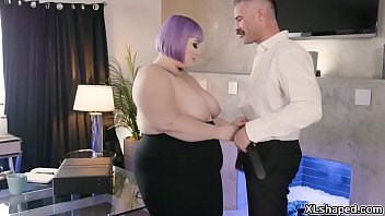 Seductive plump secretary Seductive plump secretary flirts with her horny boss Charles Dera and they started a hot fucking session inside the office.