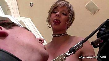 Femdom Slut Plays With Her Slave Boy - 69VClub.Com