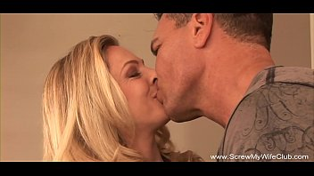 Tits wife Big tits blonde wife turns swinger