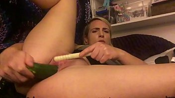 Super Wet & Fucked with Zucchini