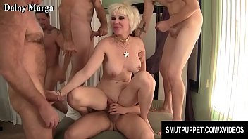 Mature group sex party Smut puppet - mature cumsluts getting gangbanged compilation part 2