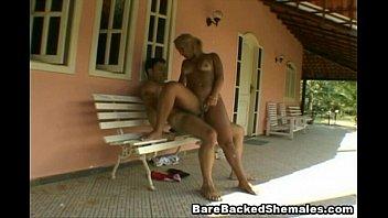 Incredible shemales Incredible hot shemale moans during a hard bareback