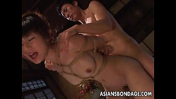 Hentai teach rope bondage Tied up and she gets her bubble butt fucked