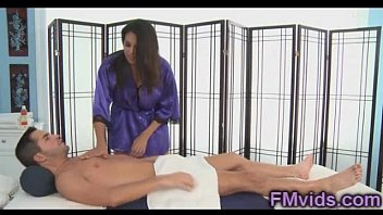 Incredible hot latin Missy Martinez in massage parlor