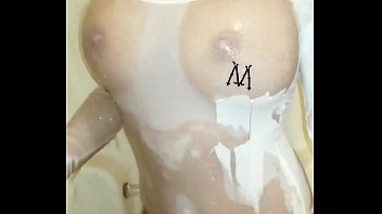 Girl on girl shower xxx Getting all wet in the shower