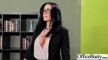 (jayden jaymes) Busty Slut Girl Banged Hardcore In Office clip-18