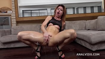 Monika Wild gets submitted with Balls Deep DAP, Gapes, Domination, Squirt and Swallow GL330