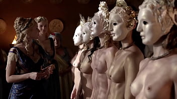 Katrina Law - Completely naked and wearing a mask - (uploaded by celebeclipse.com)