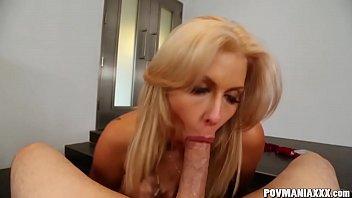 Beautiful Blonde Savana Styles Sucks Cock POV Style