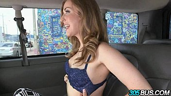 Sexy blondie Karla Kush on the 305bus fucked hard!.2