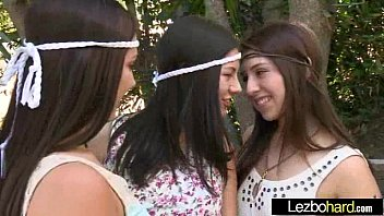 Lesbians (Shyla Jennings & Ariana Grand & Jenna Sativa) Play On Cam With Their Hot Bodies cl