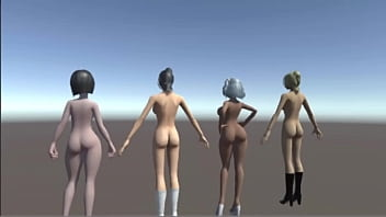 3d anime women nude - 3d animation - nude girls
