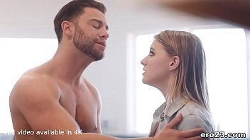 Cute Melody Marks doesn't know how to cook but she can fuck