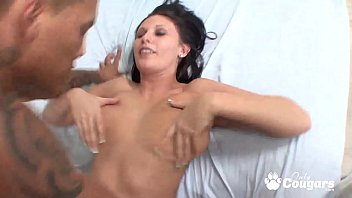 Bella Blaze Has Her Huge Squishy Titties Fucked By An Asian