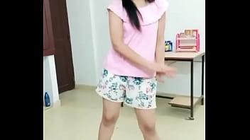 My sister dancing
