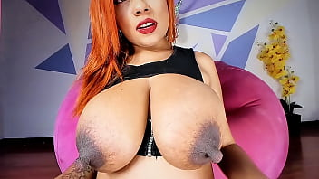Chocolate Huge Nipples Omg