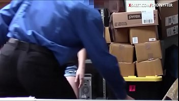 Cute teen shoplifter banged in LP office thumbnail