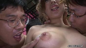 Japanese Housewife, Aiko Nagai Had A Group Sex Adventure, Uncensored