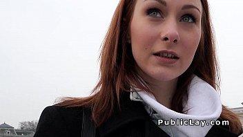 Russian redhead banged pov
