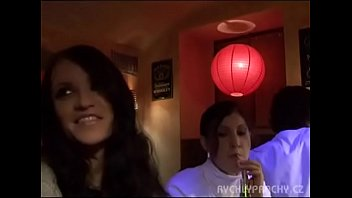 Barmaid fucked and jizzed