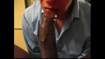 Eating Black Cum