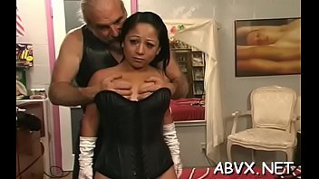 Classy bombshell decided to show their tits