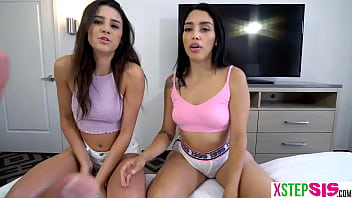 Which teen stepsister sucks cock better? Kylie Rocket or Vanessa Sky? Lets find out