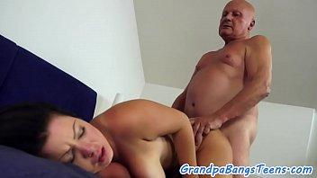 Teen beauty drilled by an older man pornhub video