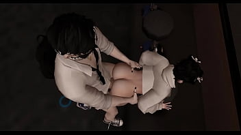 Young skinny asian slut offers his tight and wet pussyass to stranger student in public | IMVU BOYS 12 min