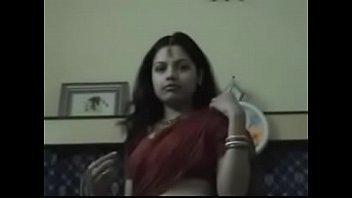 Indian Couple enjoying honeymoon in hotel