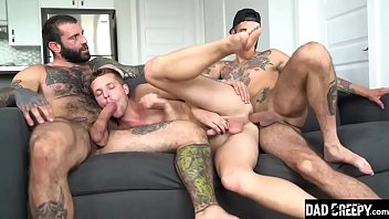 Family Orgy Between Dad and Son